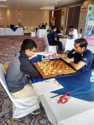 Sammed met with two losses in 6th and 7th rounds the victor in 7th round being GM - Swapnil Dhopade