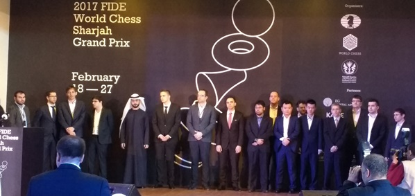 FIDE World Chess Sharjah Grand Prix - Opening Ceremony