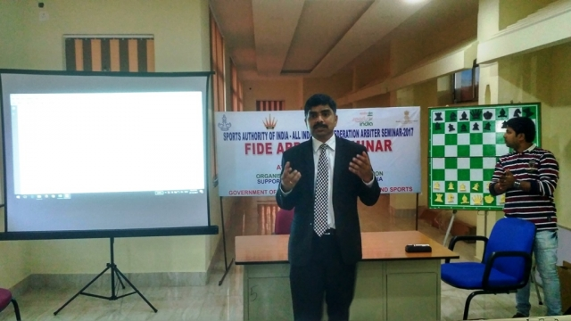 FIDE ARB Seminar in Guwahati India 3