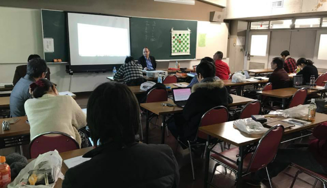 The first ever FIDE Arbiters' Seminar in Japan