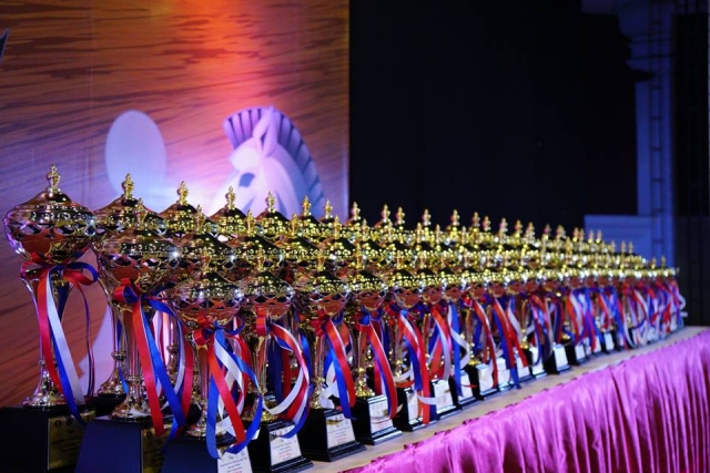 Asian Youth trophies