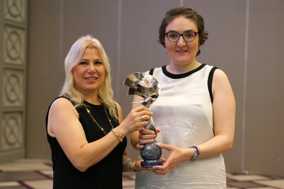 Caissa award Dzagnidze