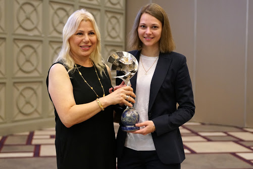 Caissa award Muzychuk