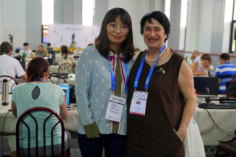 Ju Wenjun and Nana Aleksandria