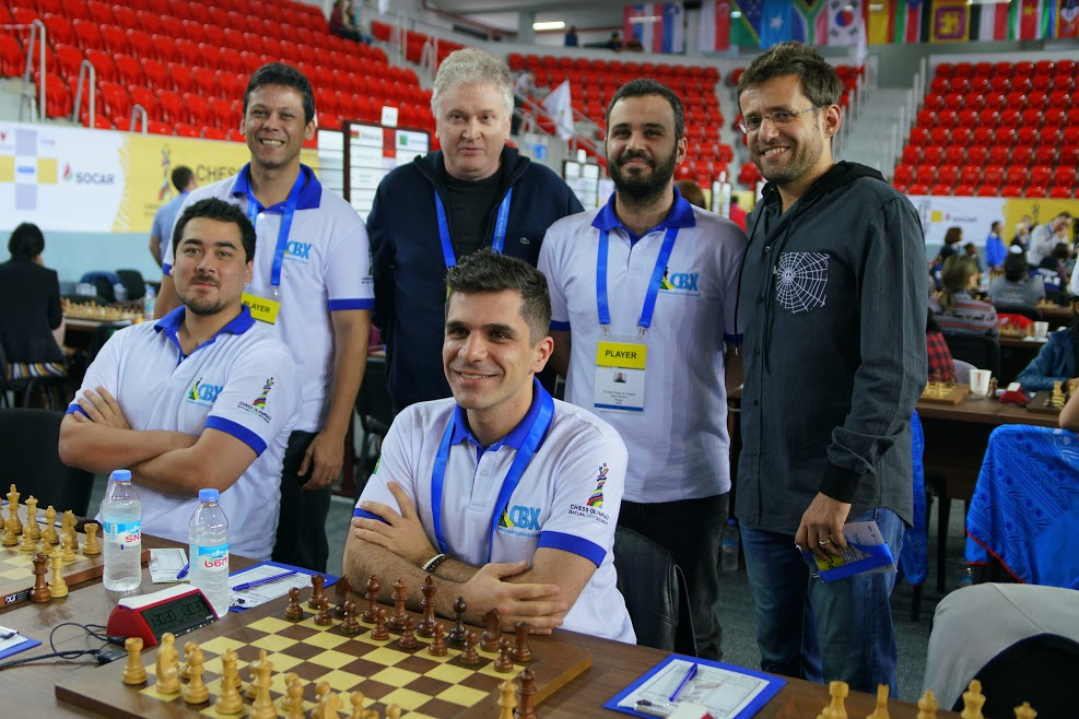Brazil and Levon Aronian
