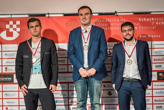 Shakhryiar Mamedyarov superb in Biel