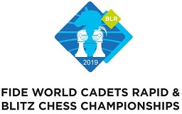 3rd FIDE World Cadets Rapid  Blitz Chess Championships 2019 logo