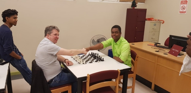 GM Short vs. Matthew Bailey Board 1 for Antigua and Barbuda at the 43rd Olympiad