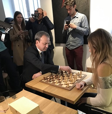 Arkady vs Sophie Milliet 6 times French champion