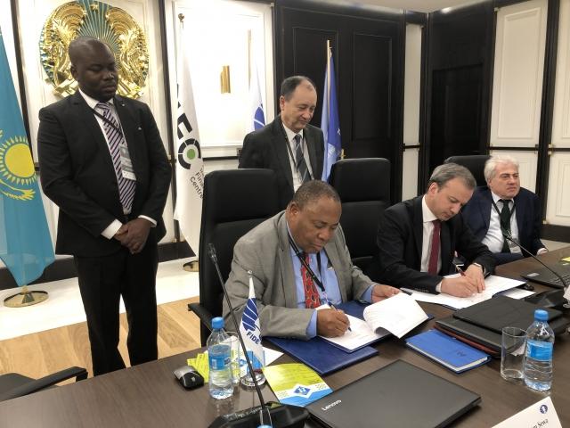 Signature Dvorkovich  African Pres Ncube