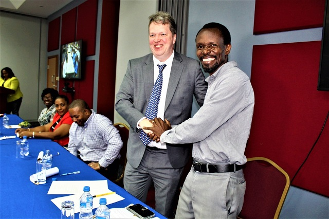 Andy Alexander President of the St. Lucia Chess Federation