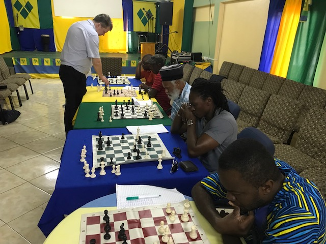 Short simul in progress