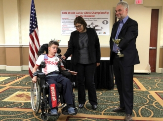 3rd FIDE World Junior Chess Championship for the Disabled 1