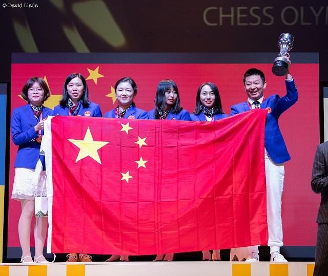 1 Chinese Womens team