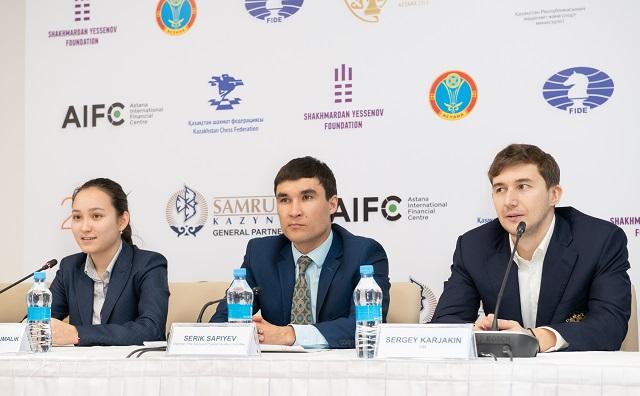 20190304 Astana-93 Abdumalik Sergey Karjakin RUSSIA KAZAKHSTAN Serik Sapiyev
