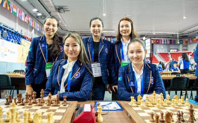 4 Kazakh Womens team