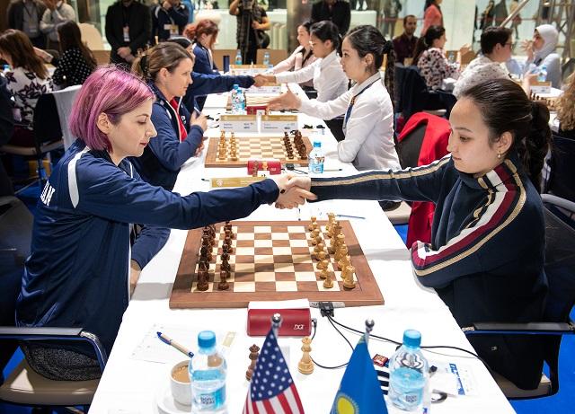 r 20190308 Astana R4-107 USA KAZAKHSTAN  Zhansaya Abdumalik Tatev Abrahamyan