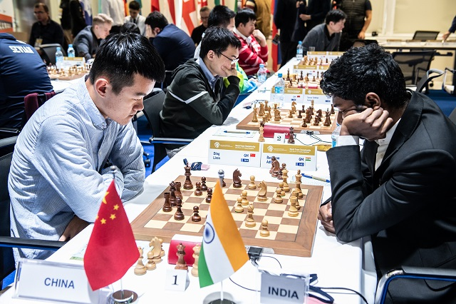 r 20190308 Astana R4-317 CHINA INDIA Adhiban Ding Liren