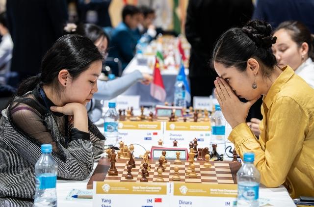 r 20190307 Astana R3-271 Yang Shen Dinara Saduakassova KAZAKHSTAN CHINA
