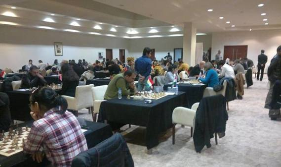 International Chess Festival in Erbil
