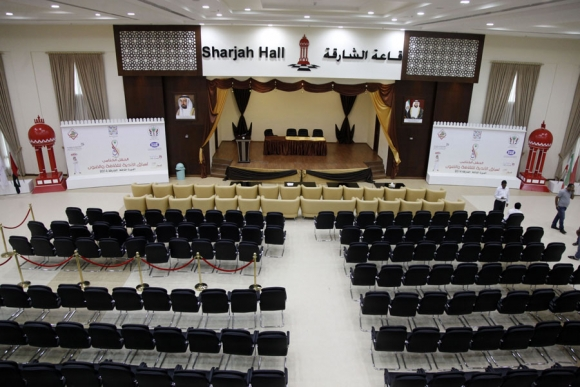 The largest playing hall in the club which can host more than 500 players